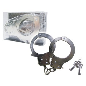 AONE鍍鎳手銬-重量款