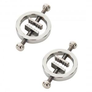 金屬擠壓型乳頭鎖夾-2個