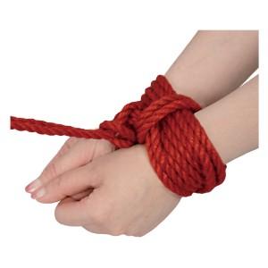 NPG最高級蜜蝋麻縄-7米紅色