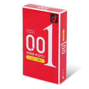 OKAMOTO 0.01 L SIZE (3PCS)