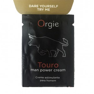 葡萄牙Orgie Touro taurine表現增強軟膏-試用裝