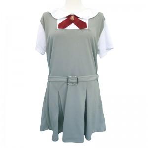 灰色女學生校服-偽娘用 2L碼