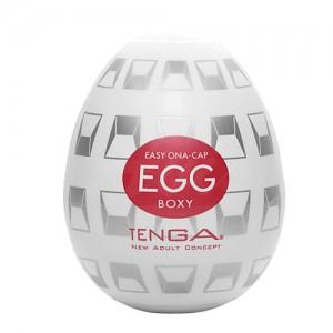 TENGA EGG-014 BOXY挺趣蛋(立體箱型)