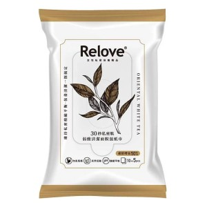 Relove Intimate hygiene 30 second wet wipes