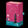 SATISFYER PLUG-ILICIOUS 2 智能手機App雙摩打振動後庭塞-黑色