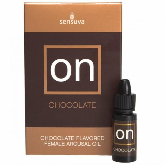 Sensuva-ON for Her  Arousal Oil Chocolate